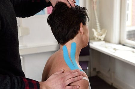 Behandelingen medical taping therapie